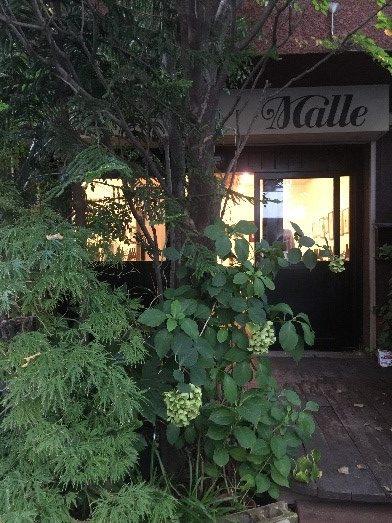 路地裏に佇むギャラリー「Malle(まぅる)」