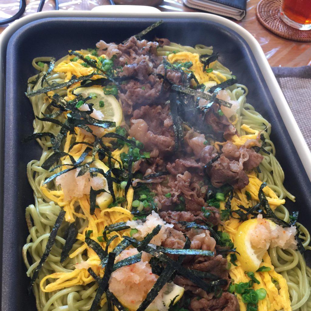 瓦そば(山口県の郷土料理)